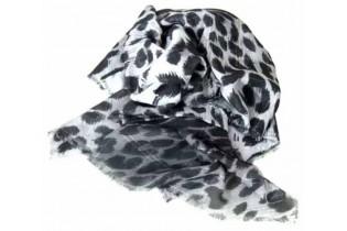Foulard pattern animalier 140x140 cm