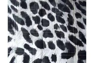 Foulard maculato 140X140 cm