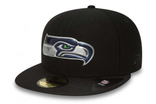 NEW ERA Seattle Seahawks Black Collection 59FIFTY