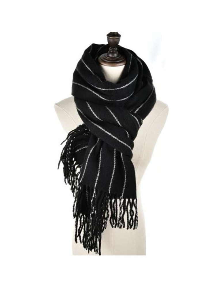 EKI3EE Striped scarf