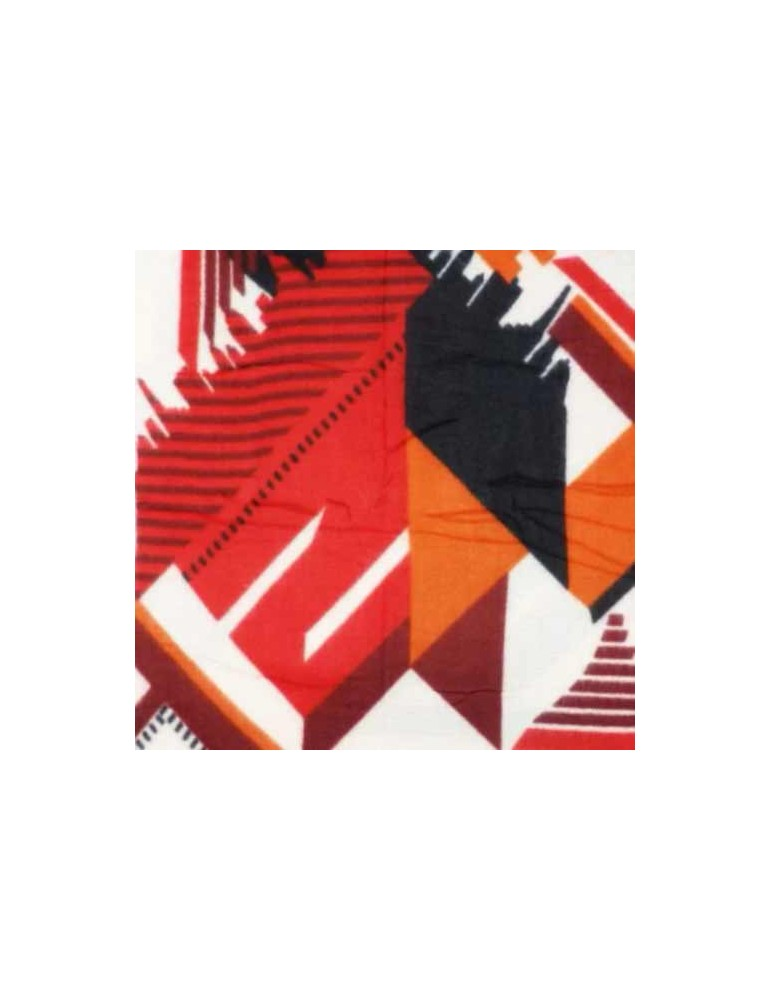Scialle geometrico-red 140x140