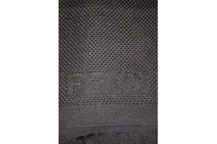 Fendi-scarf-35x160-honeycomb-in-black-wool-detail-embroidery