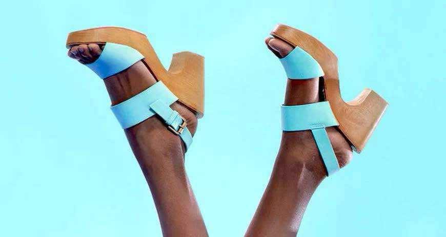 Chunky Heel Shoes